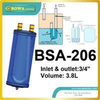 air conditioner accumulator - 3 L suction line accumulator in heat pump VRV air conditioner or seafood machine