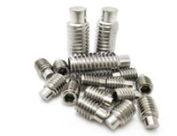 Wholesale 304 stainless steel DID915 inner six angle convex end headless screw fastening screw machine M4M5M6M8 series