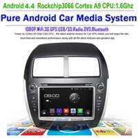 citroen c4 gps dvd - Pure android Car DVD GPS Radio for Mitsubishi ASX Citroen C4 Peugeot with qual Core G BT USB Free Map WIFI