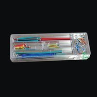 Wholesale 140 U Shape Solderless Breadboard Jumper Cable Wire Kit for Arduino Shield for Raspberry Pi