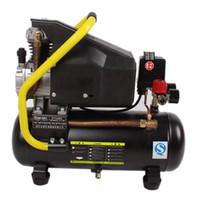 Wholesale 220V HZ W L Mini Piston Air Compressor Low Pressure For LCD Separator Touch Screen Repair Machine Woodworking Air Pump