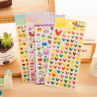 Wholesale 4 Petit sticker nara Cute animal Lovely heart stickers for kids Decoration Korean Stationery school supplies Gift