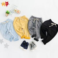 ad candy - AD New Kids Harem Pants Candy Color Autumn Winter Boys Girls Trousers Children s Clothing Quality Baby Clothes Cotton