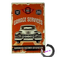 automotive service signs - Garage Service Repair Metal Tin Sign Garage Automotive Repair Decor Art Poster A24