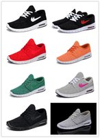 Cheap 2014 New 10 Color Stefan Janoski Max Women and Men Running Shoes Sport Skateboard Shoe Max SZ 11 (36-45) Drop Ship