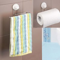 bathroom accessories supplier - Brand new towel holder sucker towel rack kitchen tissue holders toilet paper holder suction cup suppliers bathroom accessories