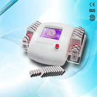 al por mayor diodo láser máquina de lipo-TM-909 14 platos diodo lipo láser adelgazante máquina lipolaser lipo láser