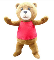 bear tedy - 100 positive feedback seller hot sale tedy costume adult fur teddy bear mascot costume