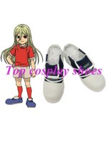 aphrodite costumes - Inazuma Eleven Aphrodite Imitated Leather Cosplay Shoes NC015 Halloween Christmas festival shoes boots