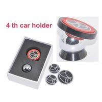 Wholesale Universal aluminum degree rotation magnetic smart cell phone car holder
