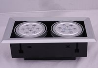 Wholesale High Quality W Led Ceiling Light Super Brightness lm LED Beans Gall Lamps Led Downlights LED Driver AC85 V