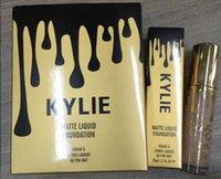 Wholesale New Kylie liquid foundation Makeup Face Powder kylie Foundation professional matte foundation color