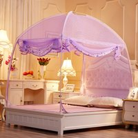 Wholesale Defense of mosquitoes to prevent the Zika virus baby mosquito free installation double bed mosquito net