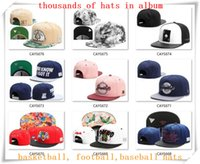 basketball custom hat - New Snapback Hats Cap Cayler Sons Snap back Baseball football basketball custom Caps adjustable size drop Shipping choose from album CY06