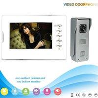 Wholesale Free DHL XSL V70D M3 V1 XSL manufacturer hot sale quot inch Good Night Vision Video door phone intercome system for Villa
