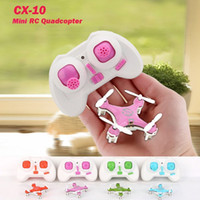 Wholesale Kids Play Gift Helicopter Hobby CX GHz CH Remote Control Quadcopter Helicopter Mini Quadcopter Flying UFO Saucer Small Drone