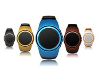 band sealed - Christmas Gift Bluetooth Portable Speaker Hands Free Watch Style Wireless Receive Call Music Wrist Band Mini Speaker for I Phone