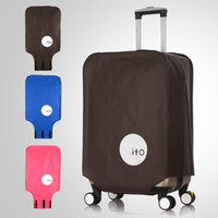 Wholesale Travel on Road Anti Dust Travel luggage covers Durable Suitcase protective cover for Trunk Case Apply to