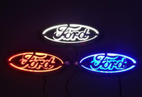 Wholesale New D Auto standard Badge Lamp Special modified car logo LED light for Ford FOCUS MONDEO Kuga cm cm