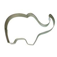 animal cutters - 200pcs Elephant Animal Stainless Steel Cookie Cutter Cake Baking Biscuit Pastry Mould Cake Decorating Tools ZA0681