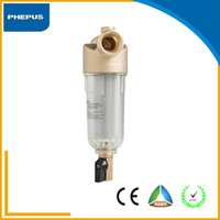 backwash filter - High quality house use backwash sediment stainless steel mesh brass pre water filter with pressure