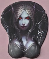 Wholesale Sylvanas Sexy Big Soft Breast D Gaming Mouse Pad New Arrival Sexy Wrist Rest H2 cm
