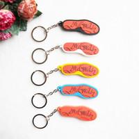 Wholesale Kids Silicone Keychain Key Chain Cute Sneaker Keychain Key Rings Key Holder Women and Men Gift