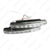 8 LED automatic drl - Wholeasale et for New Automatic Switch ON OFF Fog Light Euro DRL Daytime Runing Light