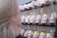 training manikins - 22inches inches Cheap synthetic hair Manikin head mannequin head training head for Salon and School Hairdressing Makeup Practice factory