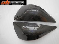 Wholesale 100 Carbon Fiber Motorcycle Fenders KAWASAKI ZX6R Modified Motorcycle On Both Sides Of The Tank Of Motorcycle Rear Fenders With Top Quality