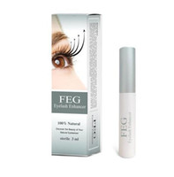 Wholesale Hot Sale Brand FEG Chinese Herbal Powerful Makeup Eyelash Growth Serum Treatments Liquid Enhancer Eye Lash Longer Thicker ml