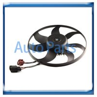 Wholesale New Radiator Cooling Fan Motor Assembly for VW Golf Jetta AUDI A3 K0959455P K0959455EA TOPT1307076