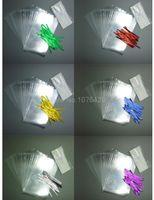 big lollipop candy - 60pcs Pack Big Poly Bags Twist Ties Lollipop Paper Sticks for Candy Lollipop Packing Accessories