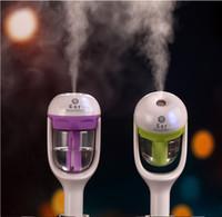 Wholesale Portable Car Humidifier Essential Oil Diffuser Mini Aroma Diffuser Mist Maker Car Charger Air Purifier Fogger