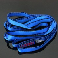 Wholesale E1098 Outdoor sports climbing supplies Quickdraws sling mountaineering Sling webbing rope S120N