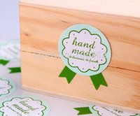 aa label - New Elegant hand made sticker Seal stickers Gift label Wholesle aa