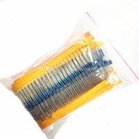 Wholesale 600Pcs Values W Metal Film Resistors Resistance Assortment Kit B00122 OST