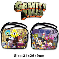 best book bags - 2016 New kid gravity falls toys bags outdoor book Tools Bags best gift for kids