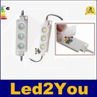 al por mayor ip67 llevó 12v-Super brillante módulos LED 6500K Blanco frío SMD 5630 / SMD 5050 RGB LED viruta Wateproof IP67 R / G / B / caliente blanco 12V llevó la luz Publicidad