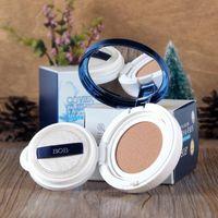 Wholesale Genuine BOB light blue crystal cushion BB Cream flawless powder Cream Concealer nude makeup moisturizing cream to send replacement equi ZP01