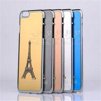 aluminium towers - Eiffel Tower Case Metal Aluminium Alloy Eiffel Tower Cover for iPhone s s s Plus free DHL