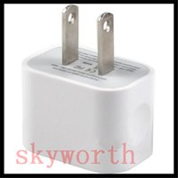 Wholesale 5V A USB Home Wall Charger EU US Plug White AC Power Adapter for iPhone S SE Samsung Galaxy HTC Universal