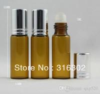 aluminum free deodorant - x ml amber glass roll on bottle amber glass roll on bottle with aluminum cap refillable deodorant containers