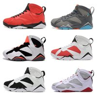 aj7 - Cheap New Mens Basketball shoes White Black Sports shoes Casual Retro AJ7 Running shoes US7 Mixed order