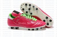 2015 Nouvelle Copa Mundial équipe Astro TF AG SG Classique réel Kangaroo Chaussures en cuir Crampons Football Chaussures de football Livraison gratuite