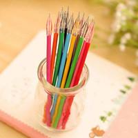 Wholesale 48 Diamond Head Pen Refills Creative Stationery Colors Gel Pen Refills Painting Drawing Pen Material Escolar