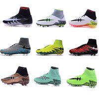 big boot shoes - 2016 New Hypervenoms Phelon II FG Men s outside Soccer Shoes Cheap Soccer Cleats Big Discount Football boots