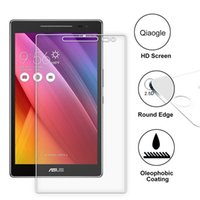 Wholesale Qiaogle Anti explosion Tempered Glass Screen Protector Ultra Hard For Asus Zenpad Z380C inch Premium Screen Protector