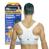 best shoulder braces - Best Deal Men Women Magnetic Posture Support Corrector Back Belt Pain Feel Young Belt Brace Shoulder Chest safety Belt Size