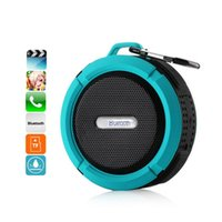 Wholesale C6 Waterproof Shower Speaker Wireless Bluetooth Sound Box Handsfree with Mic Suction Cup